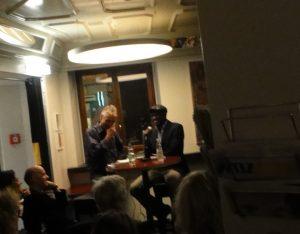 Lesung Alain Mabanckou Zürich liest, Hotel Rothaus, 26. Oktober 2013