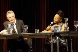 Lesung Chimamanda Ngozi Adichie im Literaturhaus, Basel, 15. Mai 2014